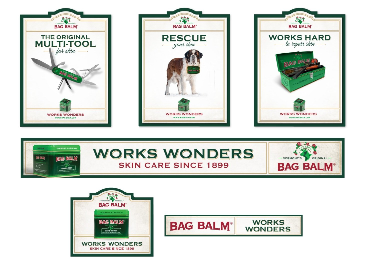 Bag Balm Digital Ads