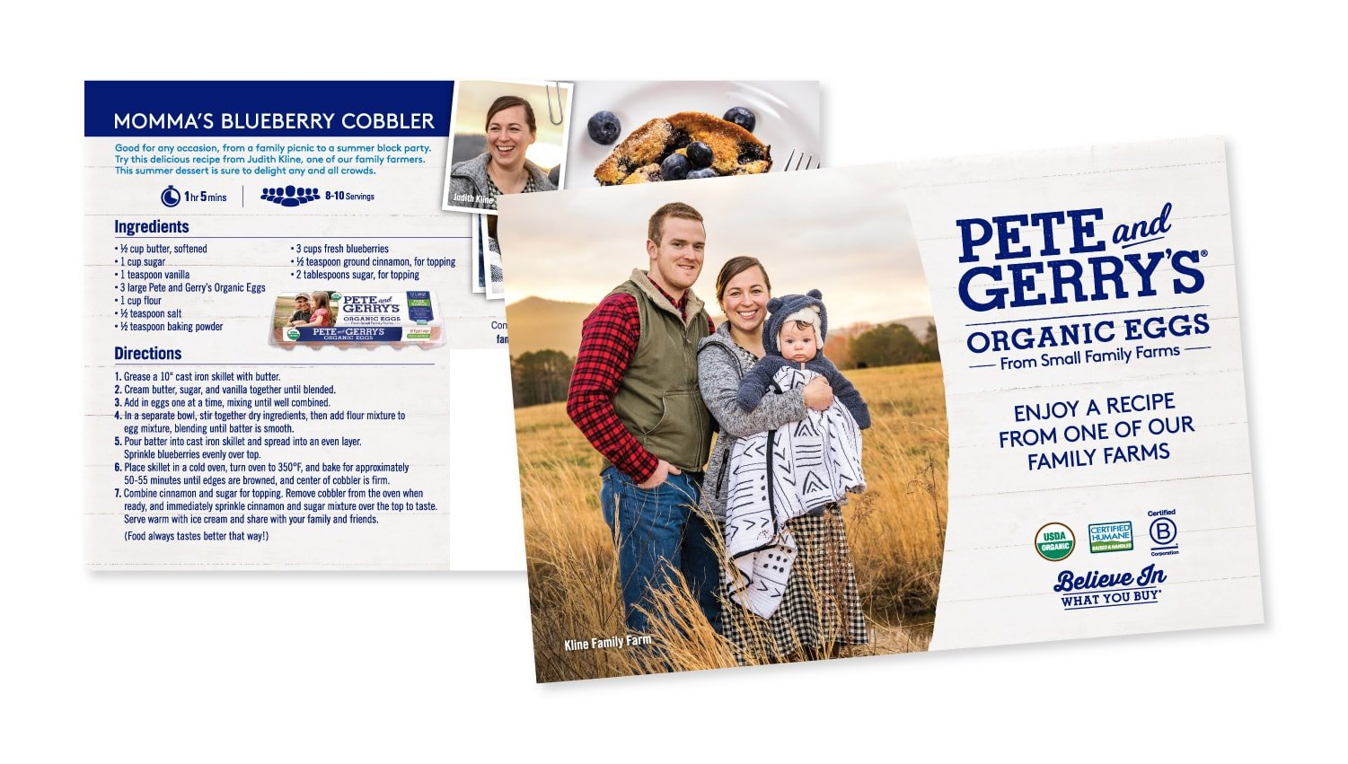 Pete & Gerry's Direct Mail