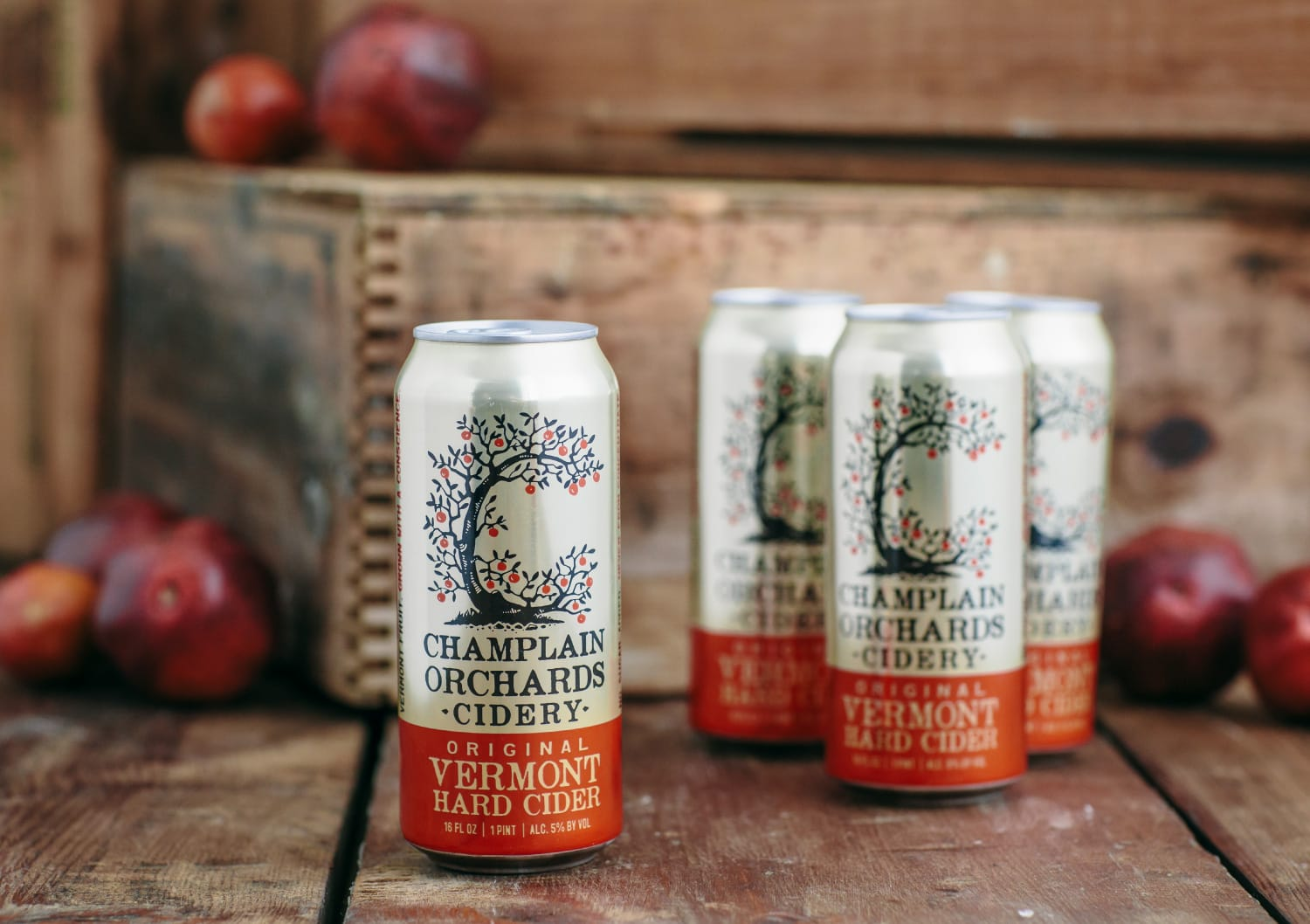 Champlain Orchards Can Packaging