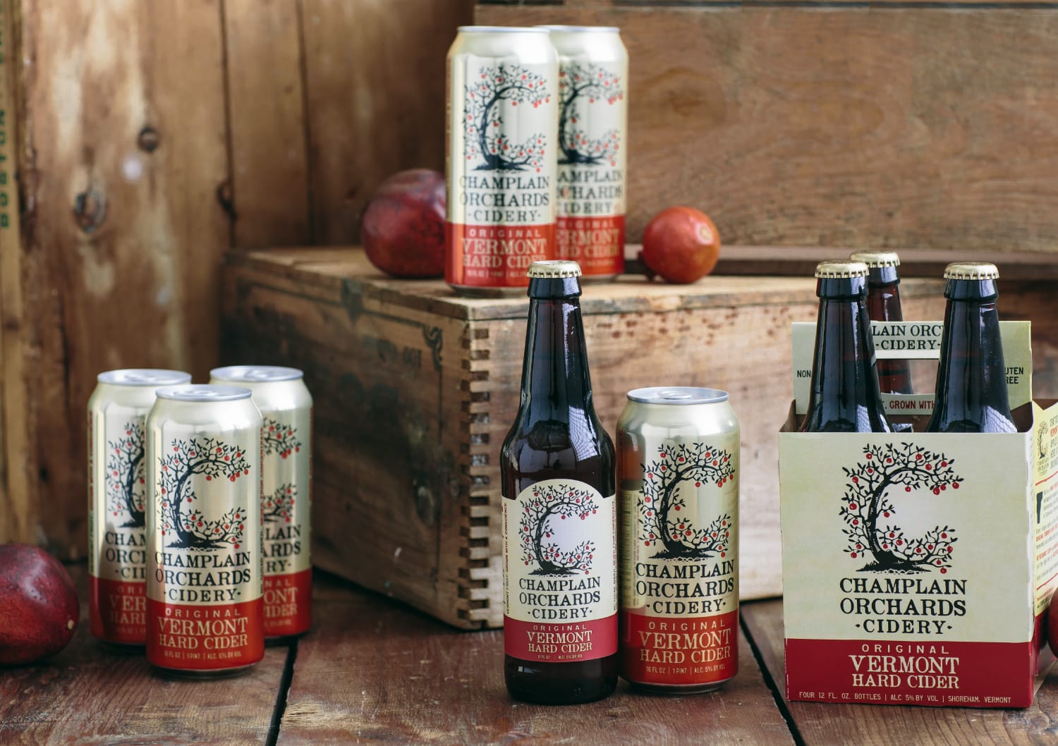 Champlain Orchards Packaging