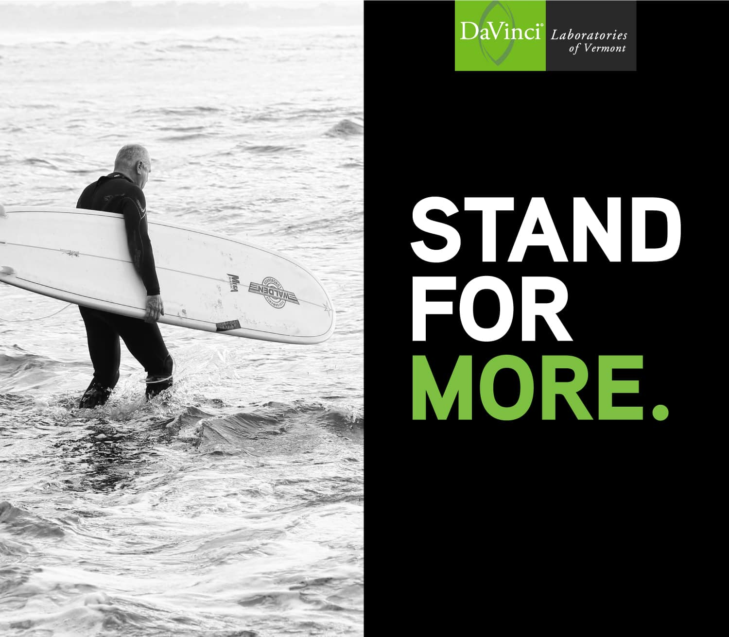 Stand for More Surfer
