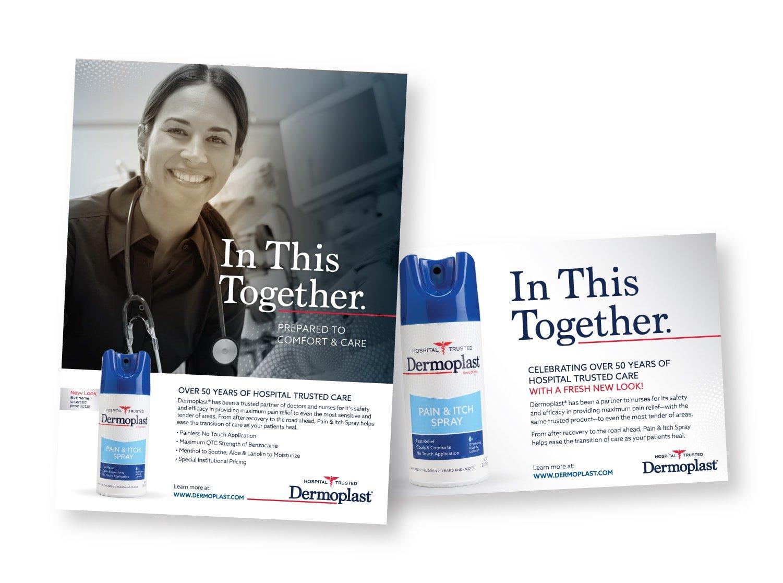 Dermoplast Print Advertising