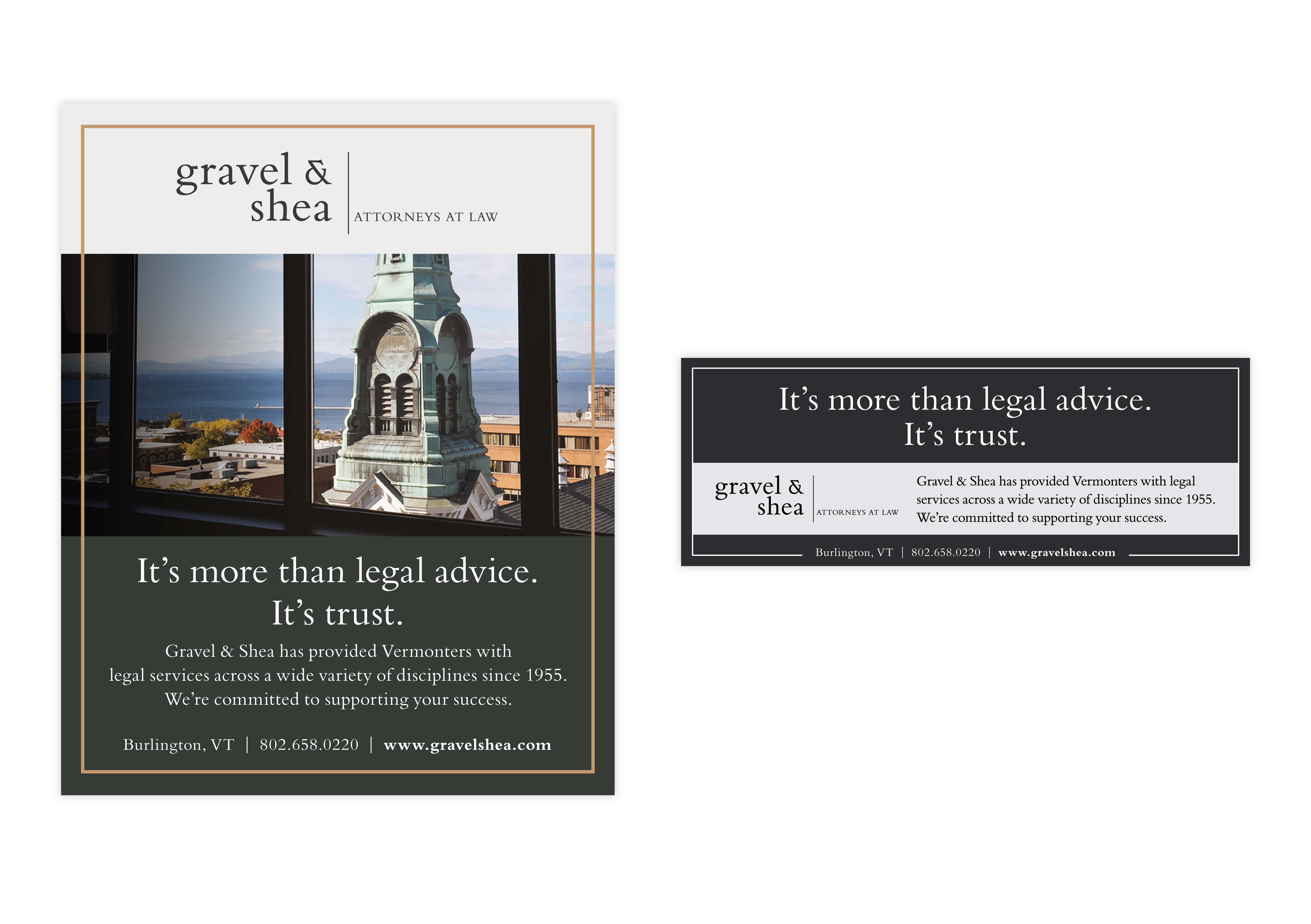 Gravel Print Ads