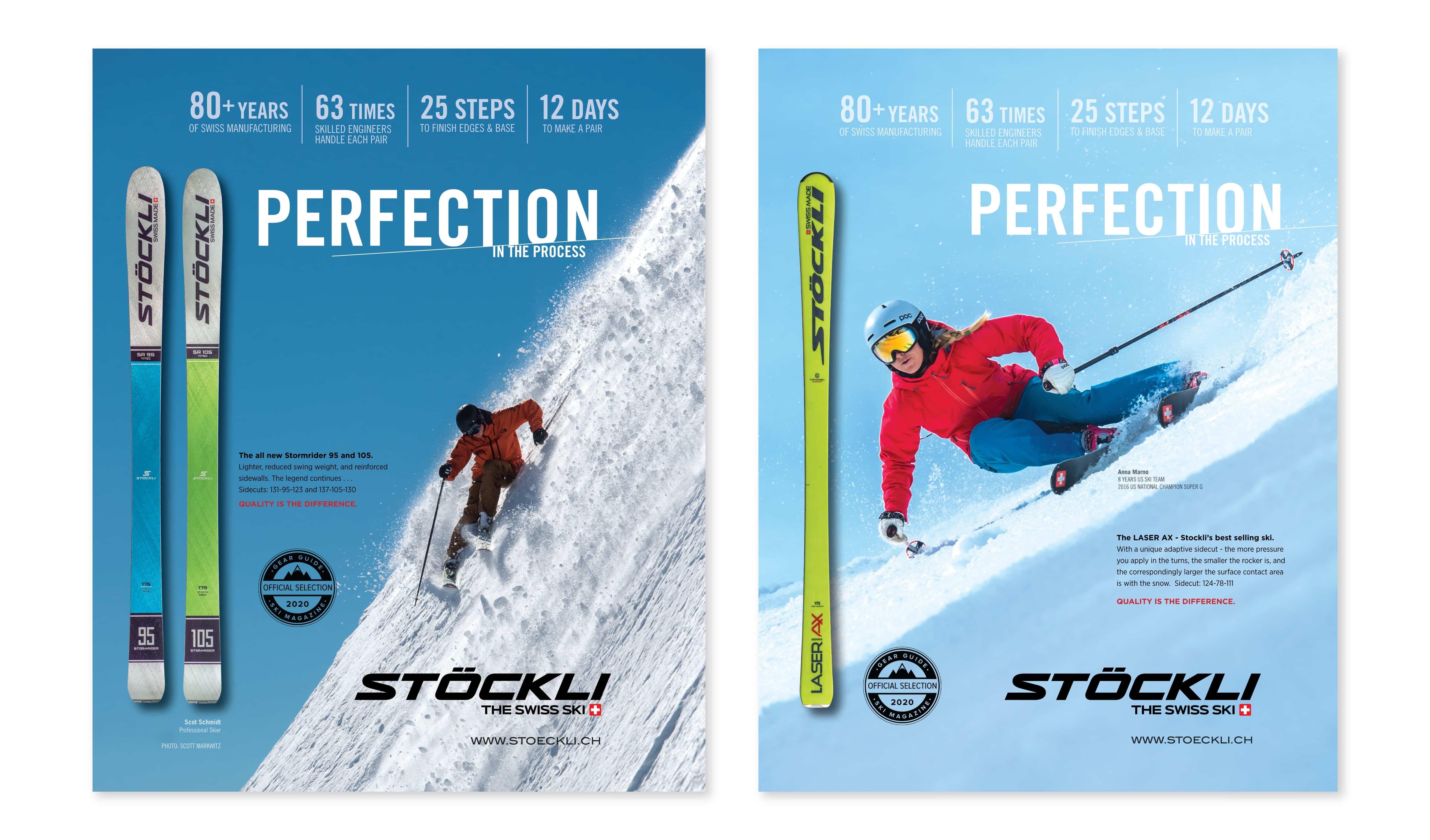 Stockli Print Ads