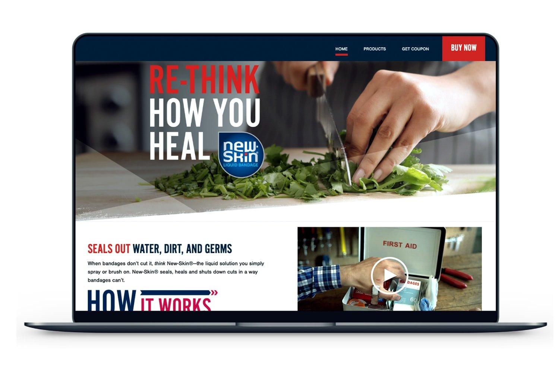 NewSkin Website