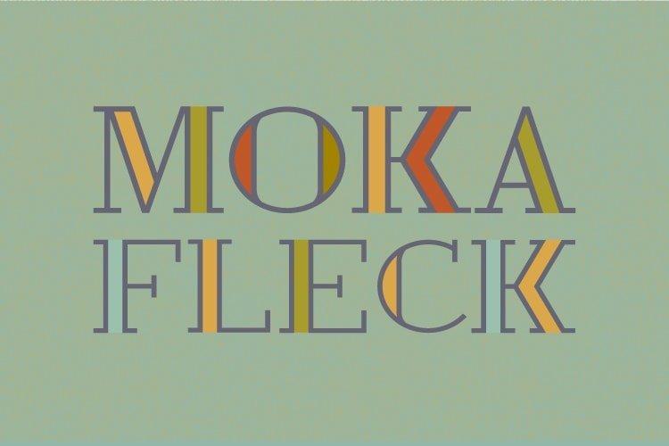 Moka Fleck Logo Mark