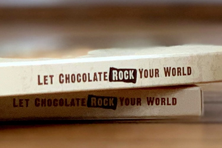 Let Chocolate Rock Your World