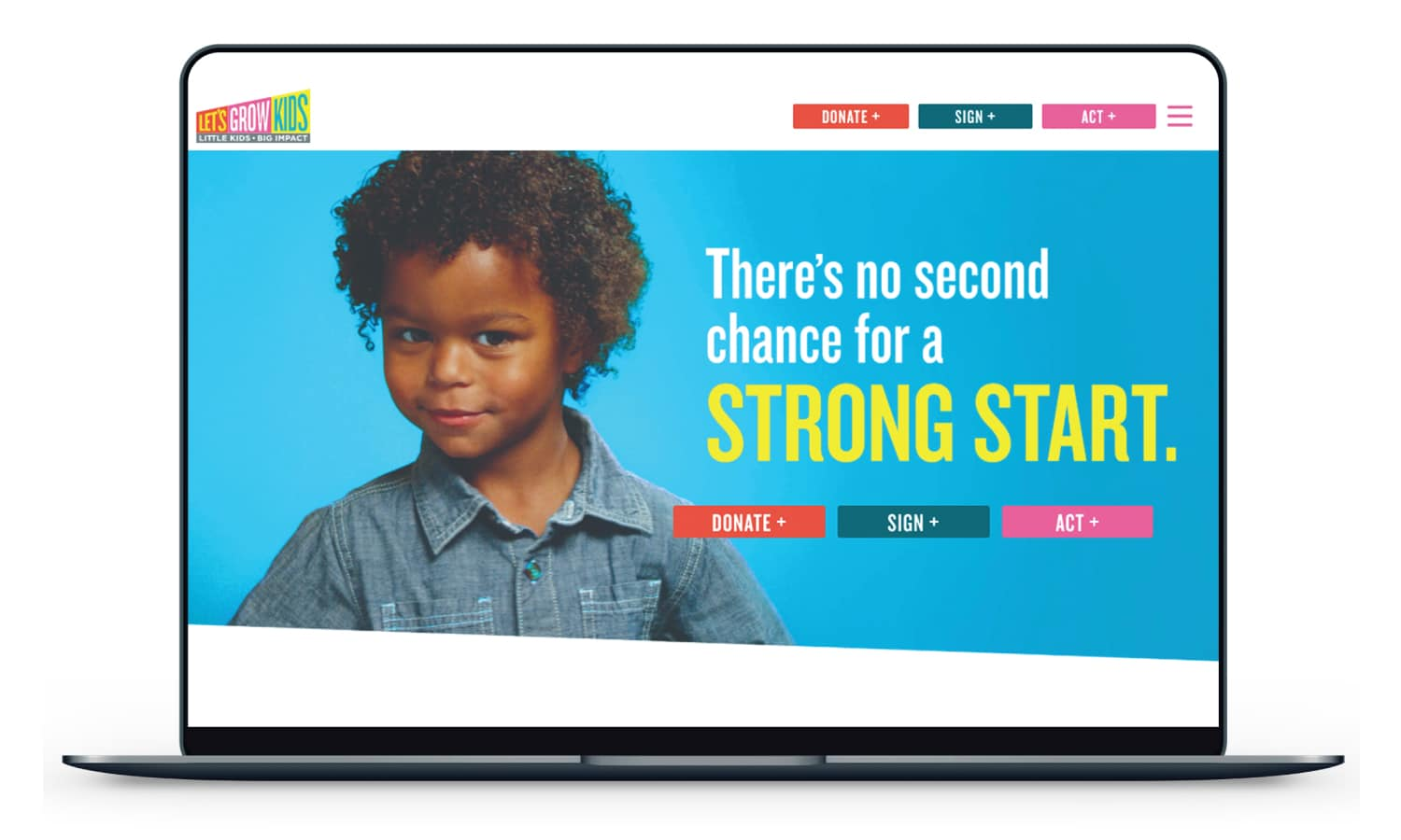 Let's Grow Kids Homepage