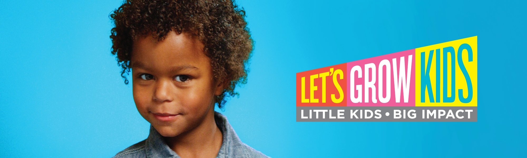 Let's Grow Kids Campaign Header