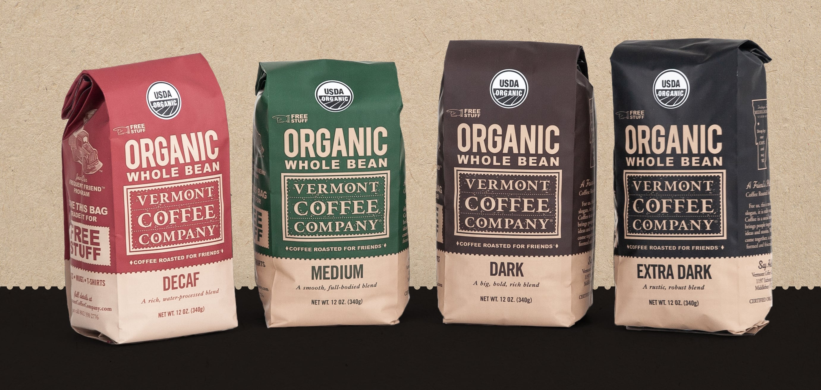 Vermont Coffee Company Packaging Place Creative Company