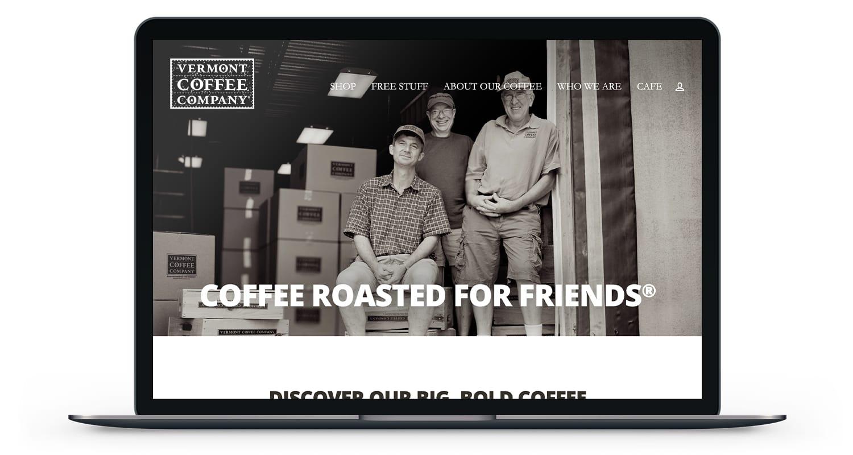 Vermont Coffee Company Website