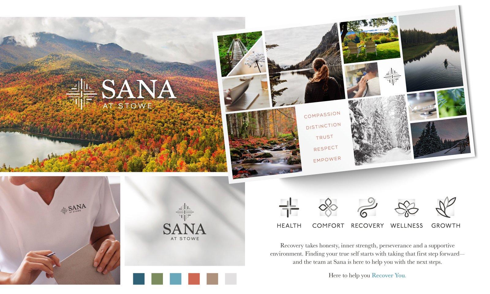 Sana at Stowe Brand Development