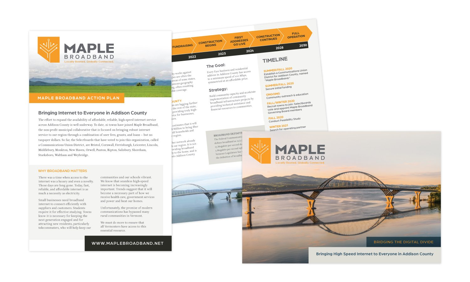 Maple Broadband Campaign Work
