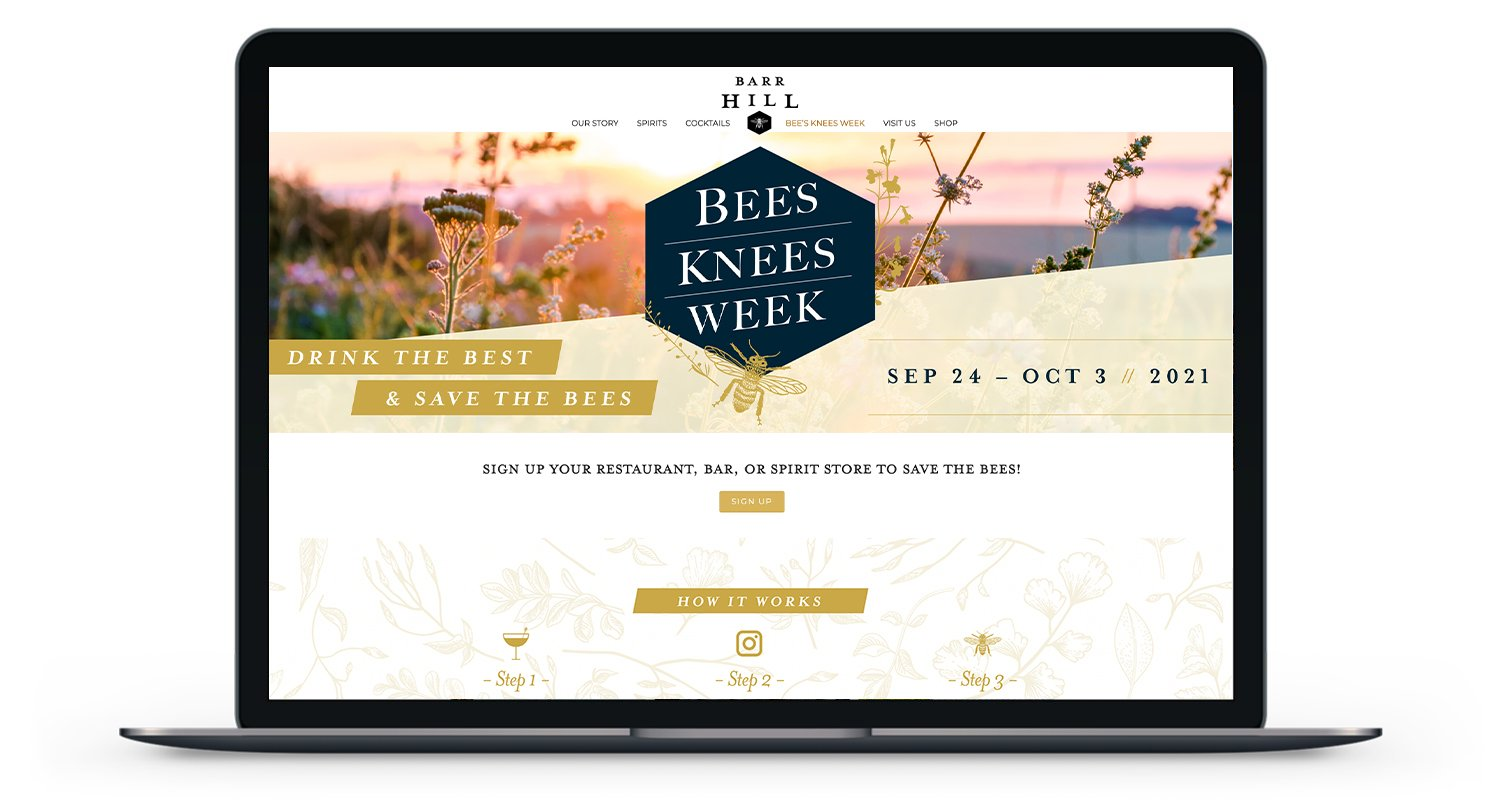 Bees Knees Campaign Website