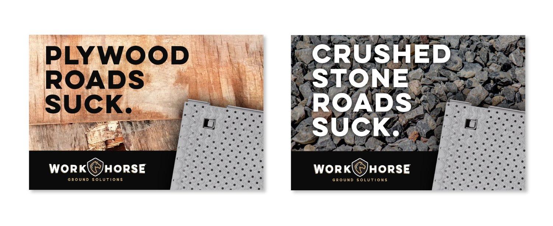 Plywood Roads Suck. Crushed Stone Roads Suck.