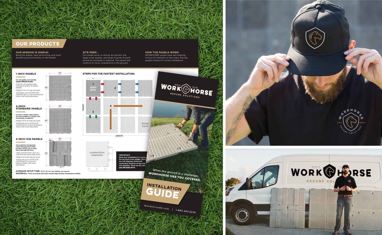 Workhorse Print Collateral