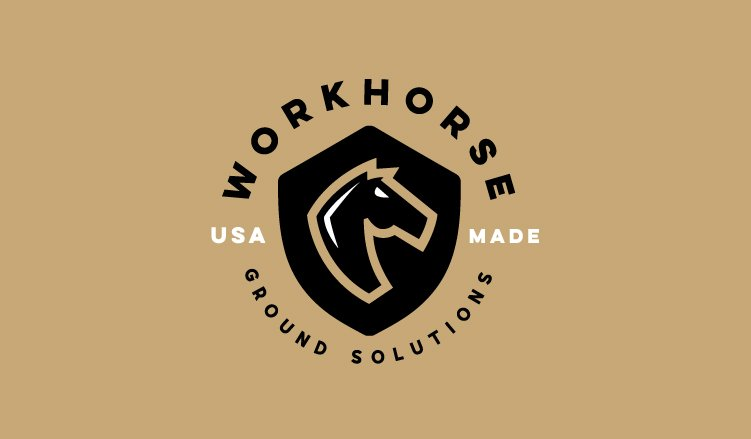 Workhorse Secondary Logo on Gold